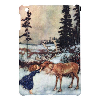 Vintage Snow Queen Fairy Tale Illustration Case For The iPad Mini