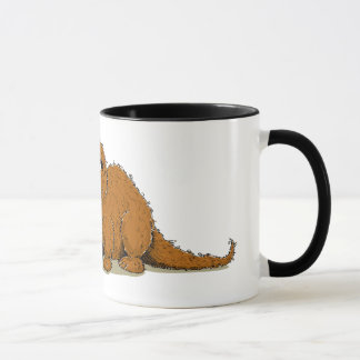 Vintage Snuffleupagus Mug