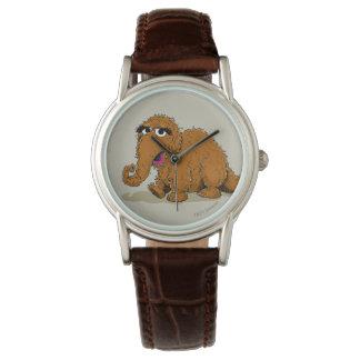 Vintage Snuffleupagus Wristwatch