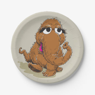 Vintage Snuffy 7 Inch Paper Plate