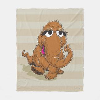 Vintage Snuffy Fleece Blanket