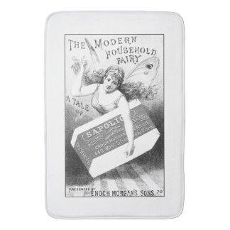Vintage Soap Ad Art Bath Mats