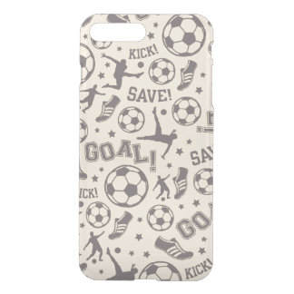 Vintage Soccer Pattern iPhone 7 Plus Case