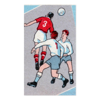 Vintage Soccer Print Pack Of Standard Business Cards