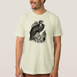 Vintage Sociable Vulture Bird - Vultures Template T-Shirt