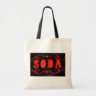 vintage soda ad Bag