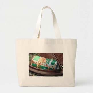 Vintage Soda Can in a Pile of Junk Jumbo Tote Bag