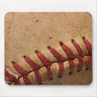 Vintage Softball Close-Up Customized Template Mouse Mat