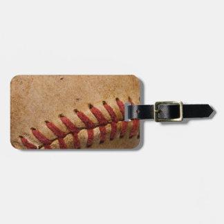 Vintage Softball - Sports Template Softballs Bag Tag