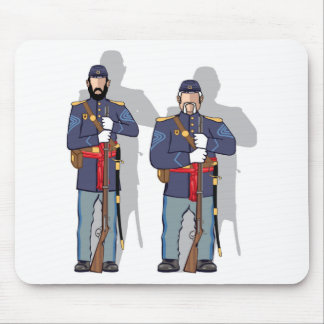 Vintage Soldier Mouse Pad
