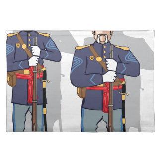 Vintage Soldier Placemats
