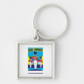 Vintage Soldier Product Label Art Keychains