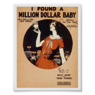 Vintage Songsheet 1900's-1920's Posters