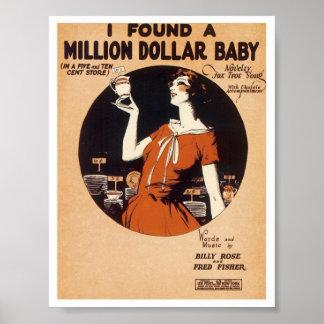 Vintage Songsheet 1900's-1920's Poster