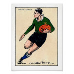 Vintage South African Rugby - Print