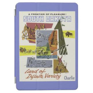 Vintage South Dakota custom name device covers iPad Air Cover