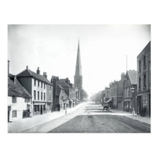 Vintage Southampton Street, Reading England, 1891 Postcard