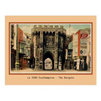 Vintage Southampton The Bargate Postcard