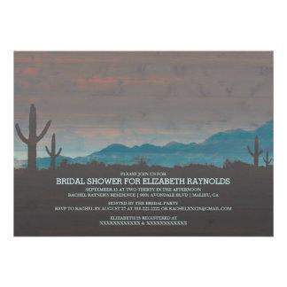 Vintage Southwestern Bridal Shower Invitations Invitation