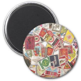 Vintage Soviet Labels - Magnet