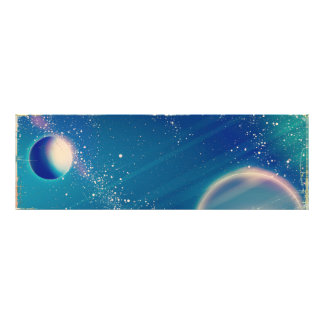 Vintage Space - Above and beyond Photo Print