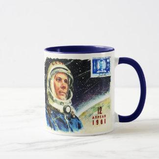 VINTAGE SPACE AGE 1960's ASTRONAUT DESIGN Mug