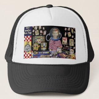 VINTAGE SPACE AGE Trucker Hat