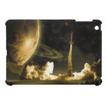 Vintage Space Launch Case For The iPad Mini