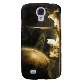 Vintage Space Launch Galaxy S4 Case