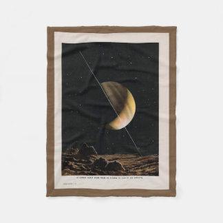 Vintage Space Throw Blanket