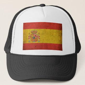 Vintage Spain Flag Trucker Hat