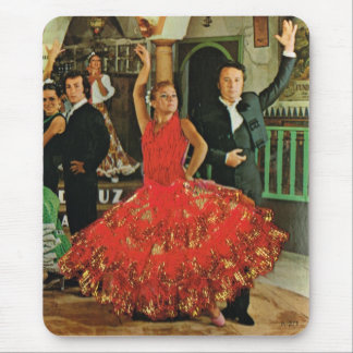 Vintage Spain, Flamenco dancers Mouse Pad