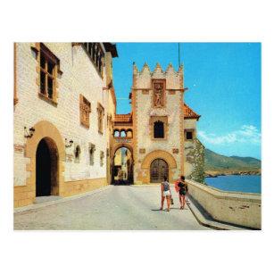 Vintage Spain,  Sitges, Museum Postcard