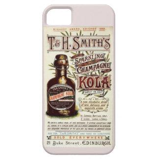Vintage Sparkling Champage Kola Advertisement Case For iPhone 5/5S