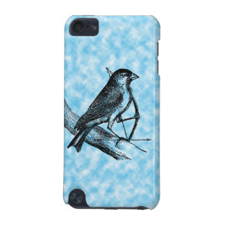 Vintage Sparrow Bird w/Bow & Arrow Old Archery iPod Touch (5th Generation) Cover