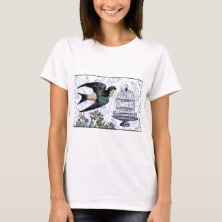 Vintage Sparrow & Cage T-Shirt