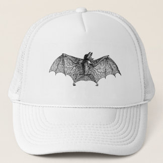 Vintage Spectre Bat Personalized Halloween Bats Trucker Hat