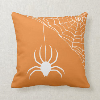 Vintage Spider Web Cushion
