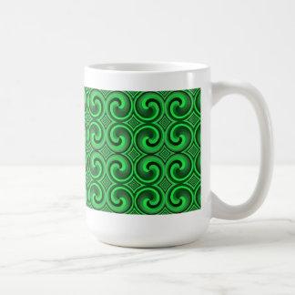 vintage spiral pattern Mug