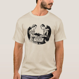 Vintage Spirit Talking Board Graphic T-Shirt