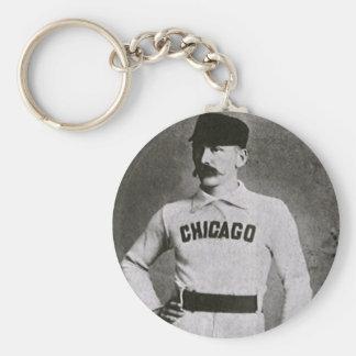 Vintage Sports Baseball Photo Chicago Player Key Chains
