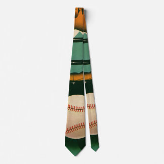 Vintage Sports, Baseball Player, Catcher with Mitt Tie