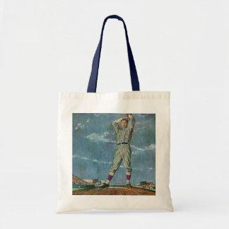 Vintage Sports, Baseball Player Pitcher Bag