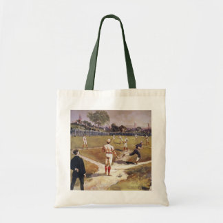 Vintage Sports Baseball Players by Henry Sandham Bag