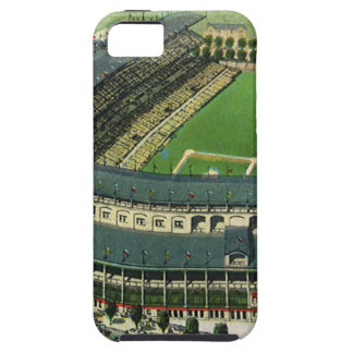 Vintage Sports Baseball Stadium, Aerial View iPhone 5 Cases