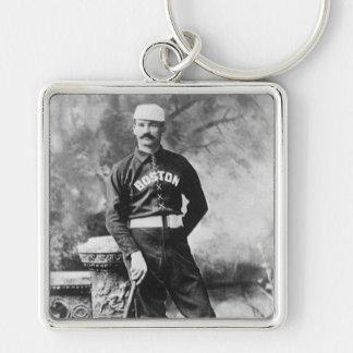 Vintage Sports Boston Baseball Player Keychains