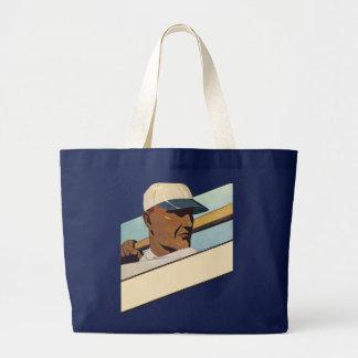 Vintage Sports, Stylized Baseball Player Bag
