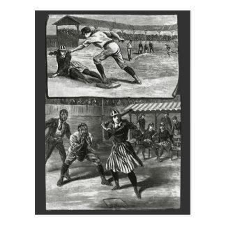 Vintage Sports Victorian Women s Baseball Teams Postcards