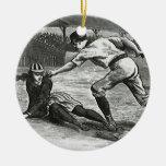 Vintage Sports, Victorian Women's Baseball Teams Christmas Ornament