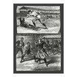 Vintage Sports, Victorian Women's Baseball Teams Personalized Invite